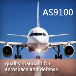 As9100 Quality Management Certification For Aerospace